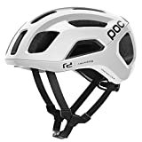 POC Ventral Air SPIN Casco Ciclismo Unisex Adulto, Blanco Hydrogen White Raceday, Med