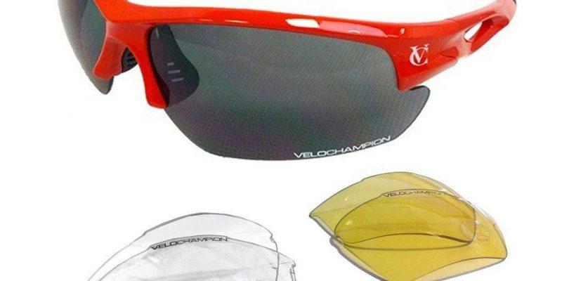 Oferta – gafas de sol ciclismo VeloChampion Tornado a solo 14,95 euros