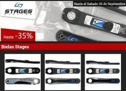 Oferta medidores de potencia bielas Stage con descuentos de hasta el 35%