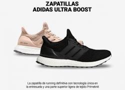 Ofertas zapatillas running Adidas UltraBoost con descuento hasta del 40%